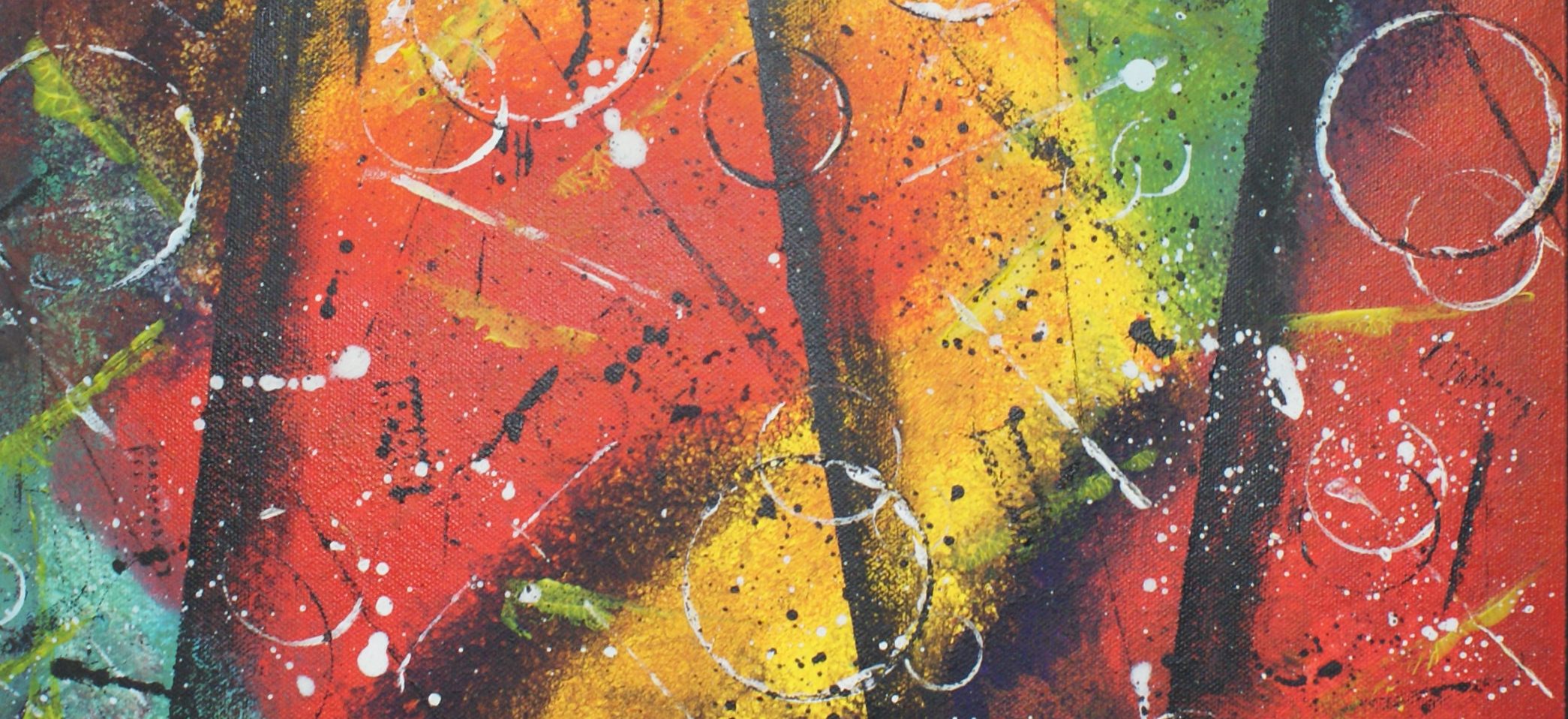 Annerley Owen – the bright colours on ArtWizard