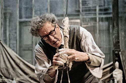 The restless perfectionism of Alberto Giacometti...