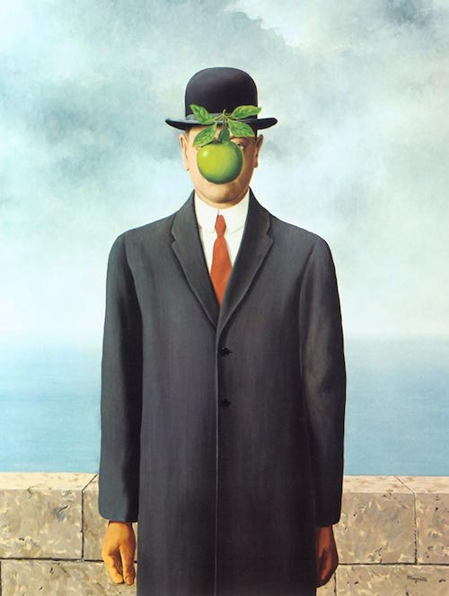 Rene Magritte. The talented Surrealist forger...