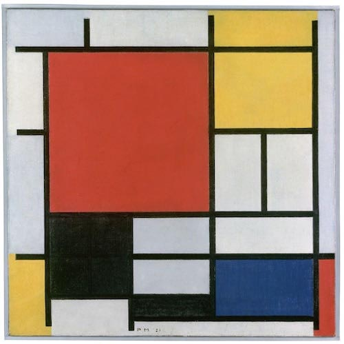 Piet Mondrian. Neoplasticism and the beauty of clean forms.