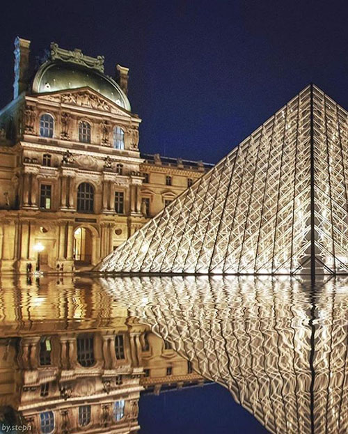 Visiting the world online museums – The Louvre