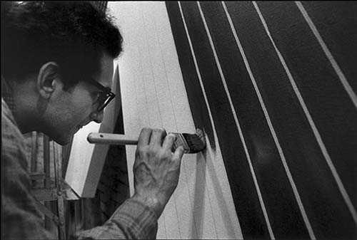 Frank Stella, the Abstract Expressionist's print master