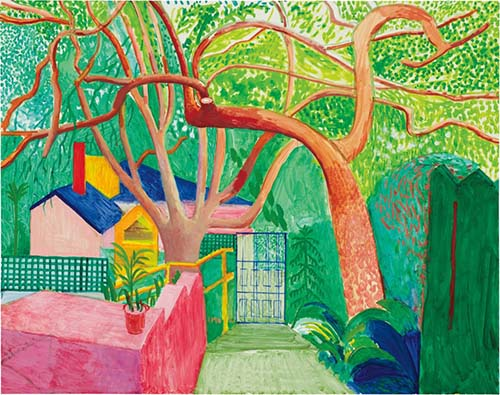 David Hockney and the bright perspective of Hollywood