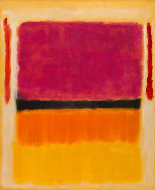 Abstract Expressionism in colors by Mark Rothko