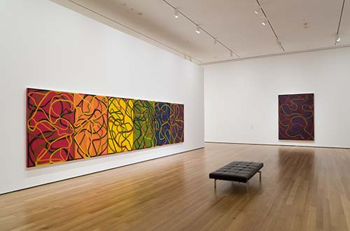 Brice Marden's exploration of colors