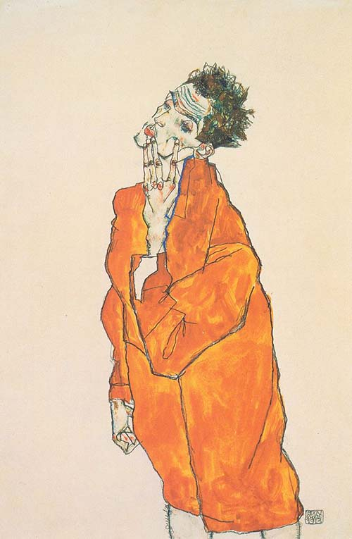 Egon Schiele, the master of explicit nudity in Austrian Expressionism