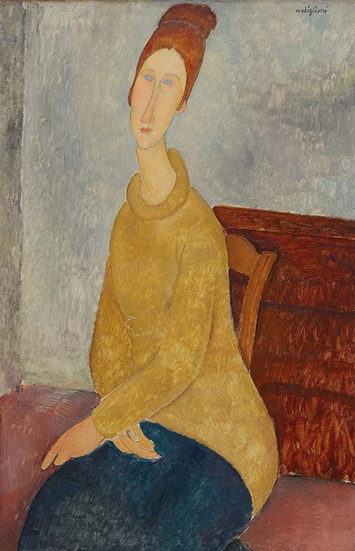 Les longs nus de Amedeo Modigliani...