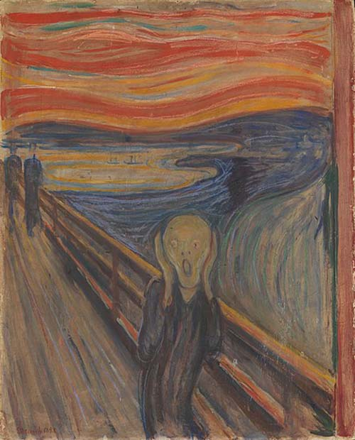Edvard Munch. The Scream!