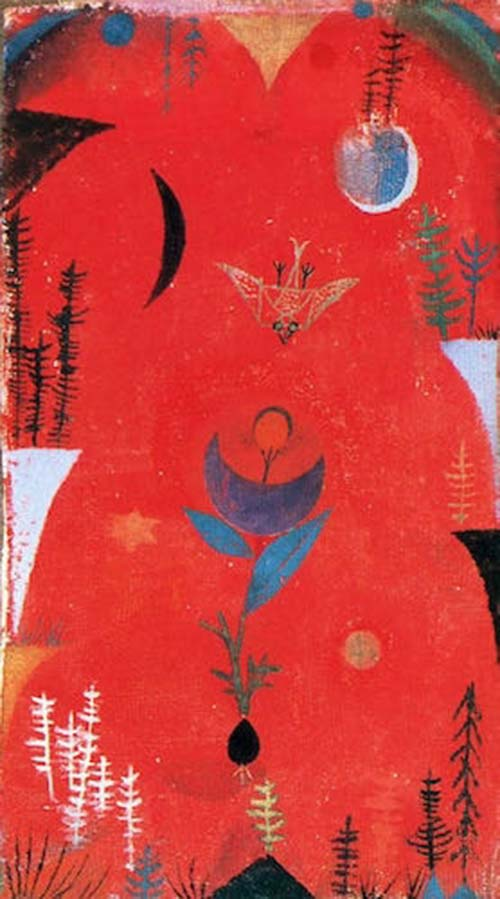 Paul Klee, the creator of color theory…