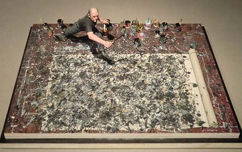 Jackson Pollock. Drip paintings and New York as a Capital of Art