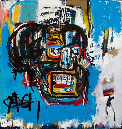 Jean-Michel Basquiat – the most expensive graphiti painter in the Contemporary Art history