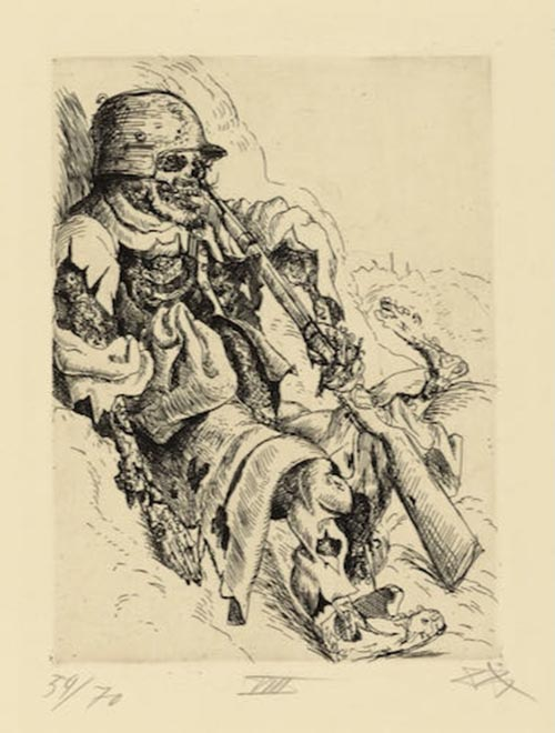 Otto Dix, a masterpiece collection for sale at Sotheby's this week