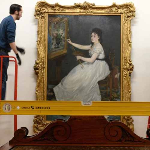 Eva Gonzalѐs, the talented Manet student