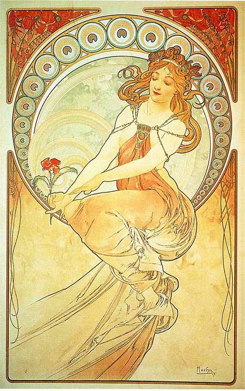 The Woman of Alphonse Mucha...