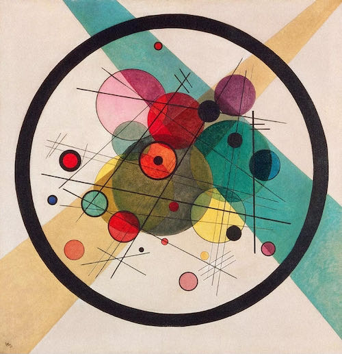 The bright colours of Wassily Kandinsky...