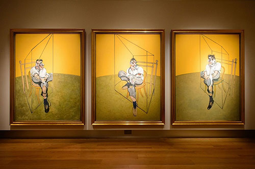 The famous grotesque paintings of Francis Bacon...