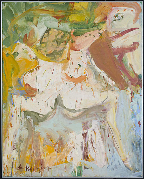 Willem de Kooning. The Artist's Artist!
