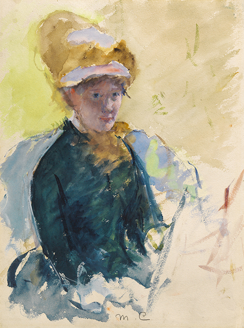The Impressionism in the portraits of Mary Cassatt