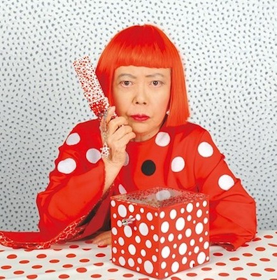 The most expensive works by Yayoi Kusama