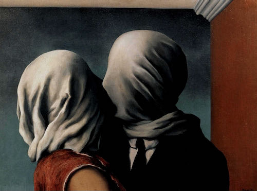 Rene Magritte, The Lovers, 1928 | Article on ArtWizard