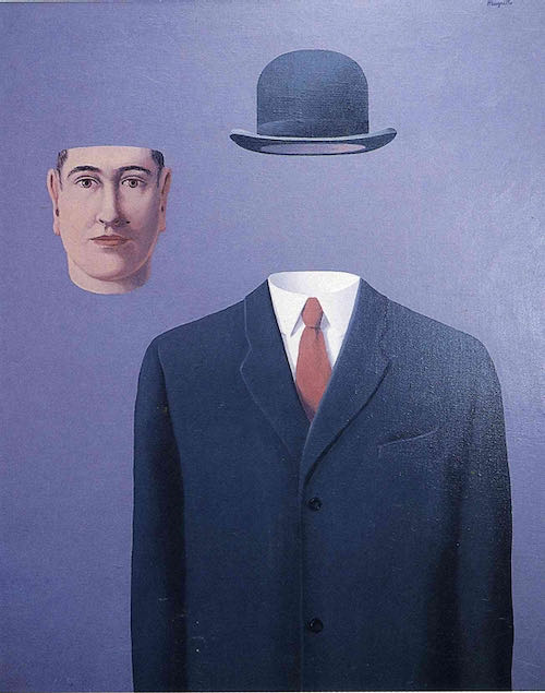 Rene Magritte, Pilgrim, 1966 | Article on ArtWizard