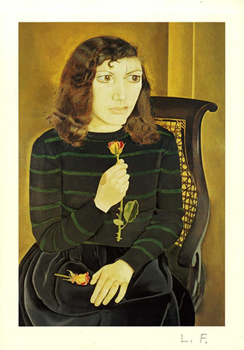 Lucian Freud, Girl with Roses, 1947-48 | Article on ArtWizard