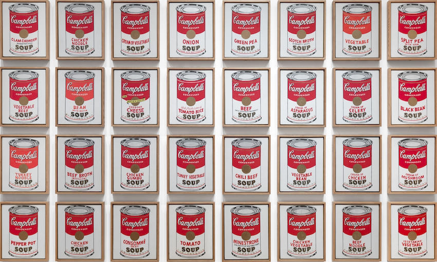 Andy Warhol, Campbell's Soup Cans, 1962 | Article on ArtWizard