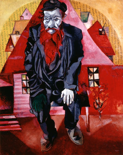 Marc Chagall, The Red Jew, 2015 | Article on ArtWizard
