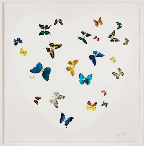 Damien Hirst, Love is all you need, 2016 | Article on ArtWizard