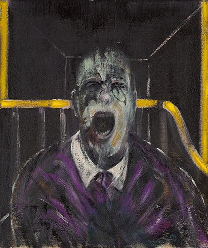 Francis Bacon, Screaming Pope, 1952 | Article on ArtWizard