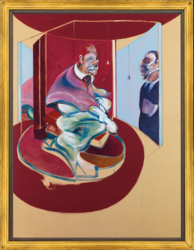 Francis Bacon, Study of Red Pope from, 1962 | Article on ArtWizard