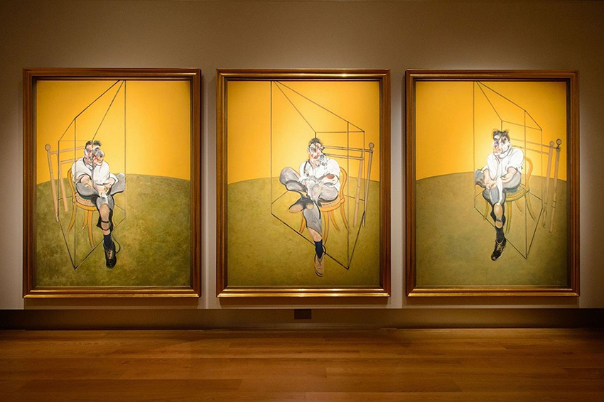 Francis Bacon, Triptych Three Studies of Lucian Freud, 1969 | Article on ArtWizard