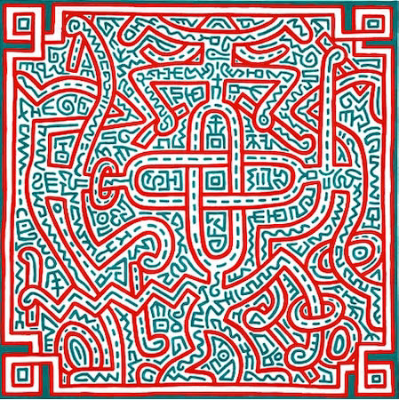 Keith Haring, Untitled, 1989 | Article on ArtWizard