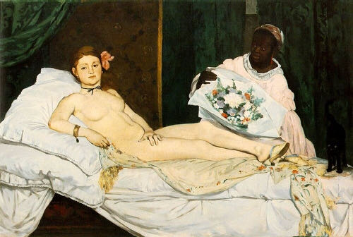 Manet, Olympia,1863 | Article on ArtWizard