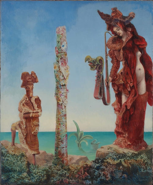 Max Ernst, Napoleon in the Wilderness, 1941 | Article on ArtWizard