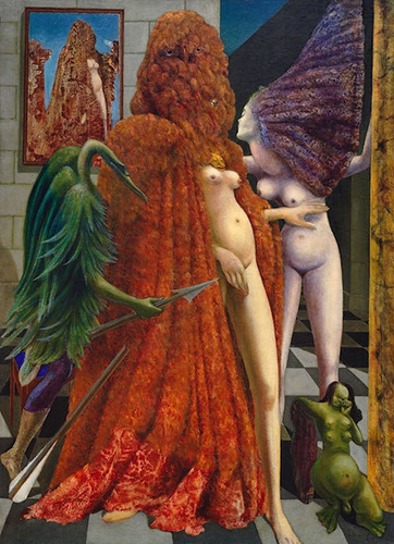 Max Ernst, Attirement of the Bride, 1940 | Article on ArtWizard