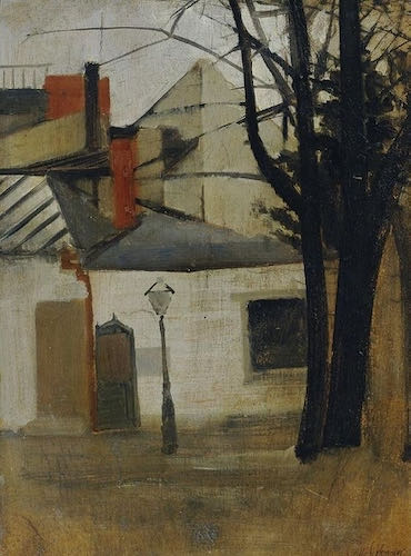 Oskar Schlemmer, Small Houses near Berlin, no date | Article on ArtWizard