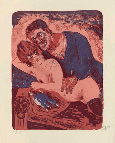 Otto Dix, Sailor and Girl, 1923 | Article on ArtWizard