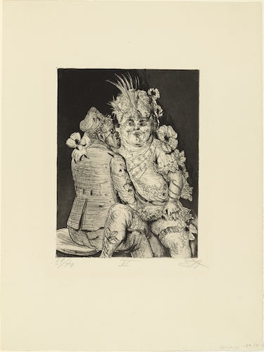Otto Dix, Visit to Madame Germaine in Méricourt, 1924 | Article on ArtWizard