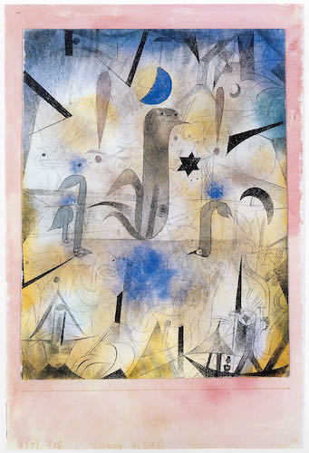 Warning of the Ships, Paul Klee, 1918 | Article on ArtWizard