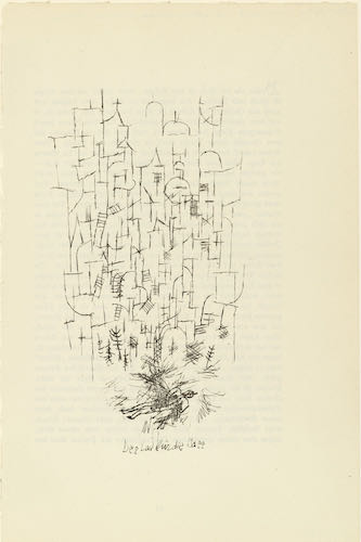 Paul Klee, Death for the Idea 1915 | Article on ArtWizard