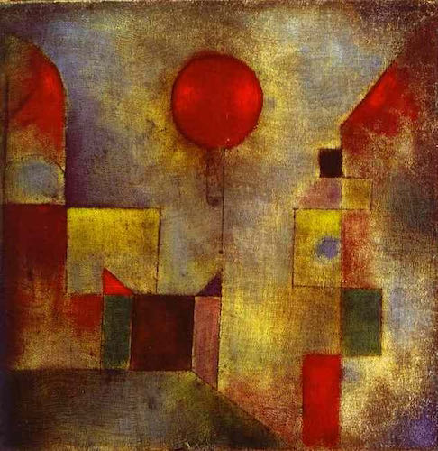 Paul Klee, Red-Balloon, 1922 | Article on ArtWizard