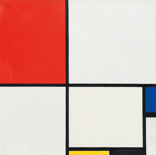Piet Mondrian Composition III c.1930 | Article on ArtWizard