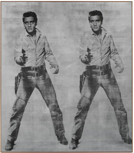 Andy Warhol, Elvis 2 Times, 1963 | Article on ArtWizard