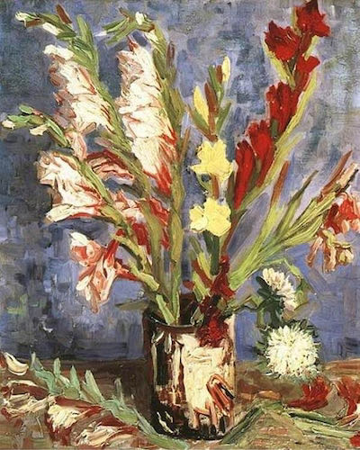 Vincent van Gogh, Vase with Gladioli, 1886 | Article on ArtWizard