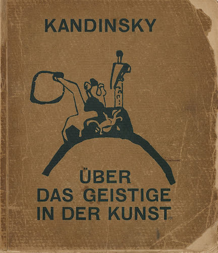 Original book cover, published in 1911 by Piper, Munich, dated 1912 | Article on ArtWizard