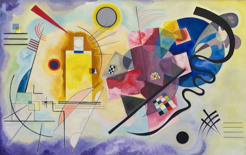 Wassily Kandinsky, Yellow-Red-Blue, 1925 | Article on ArtWizard