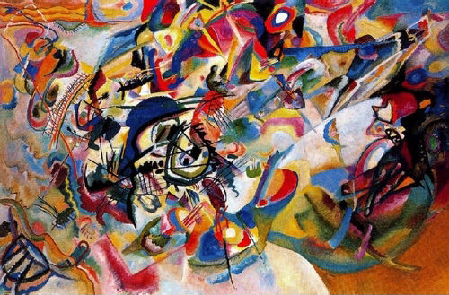 Wassily Kandinsky, Composition VII, 1913 | Article on ArtWizard