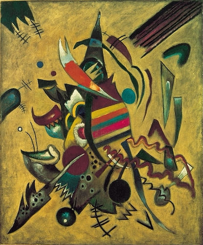 Wassily Kandinsky, Points, 1920 | Article on ArtWizard