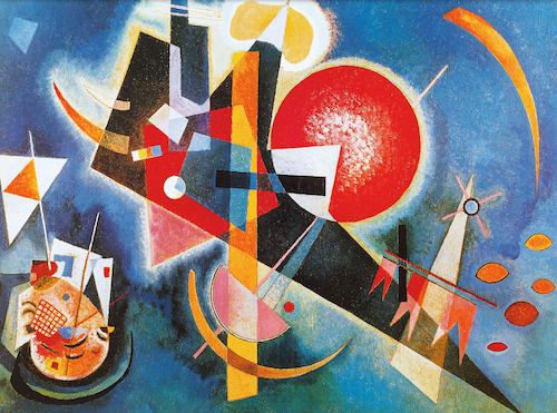 Wassily Kandinsky, In Blue, 1925 | Article on ArtWizard
